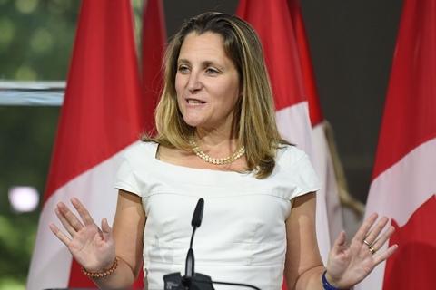 加拿大外长同王毅通话 一句话令中国十分满意