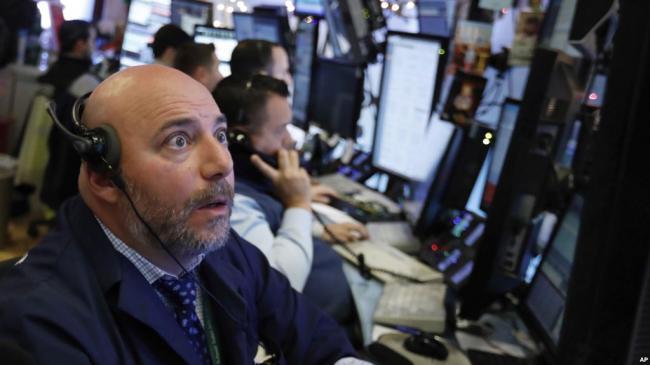 美股大幅下跌 中国经济数据疲软 世界经济放缓