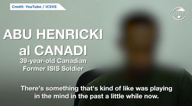 真·避难天堂 叙利亚ISIS恐怖分子持加拿大国籍