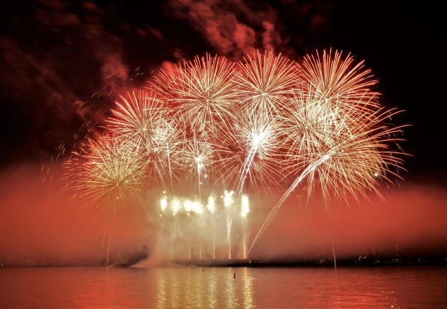 昨晚!温哥华国际烟花节加拿大队登场,美哭了