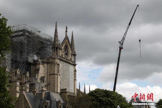 巴黎圣母院拟清理铅物质 多数儿童血液含铅过关