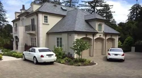 Green和Tiffany Li同居的位于Hillsborough的豪宅。(图片来源:ABC)