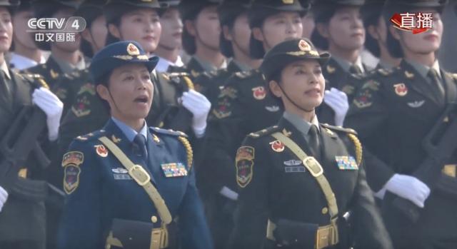 新中国国庆阅兵 史上首次出现女将军
