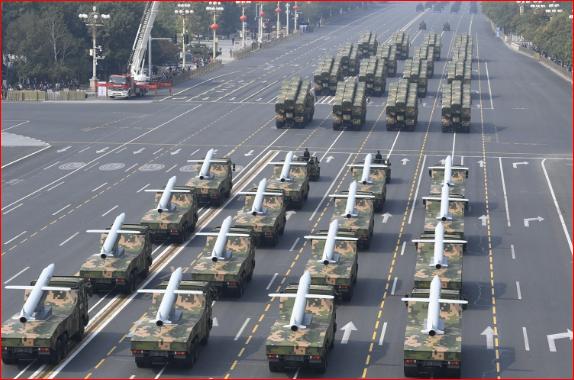 被问国庆大阅兵花多少钱 中国外交部……