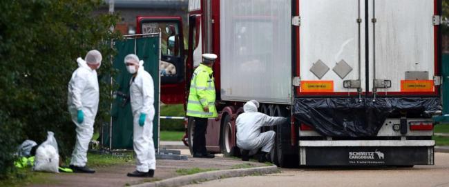 39名中国人冻死货车柜 3年前英国就已意识到风险