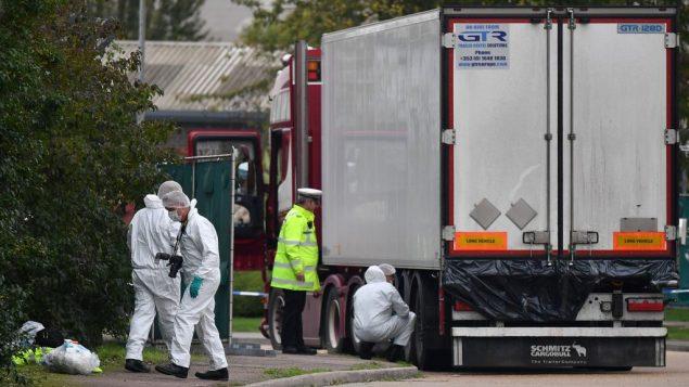 英国集装箱藏尸案:警方拘捕第四名嫌疑人