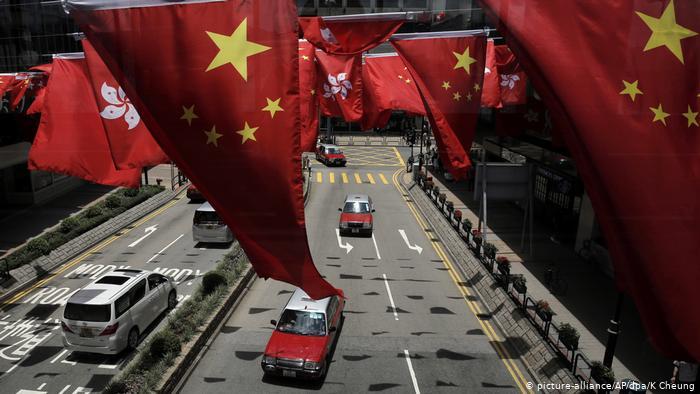 20 Jahre Rückgabe von Hongkong an China (picture-alliance/AP/dpa/K Cheung)