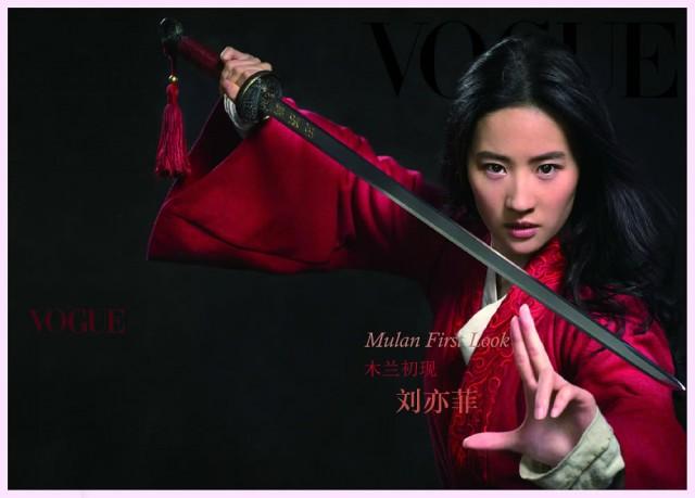 刘亦菲被评好莱坞崛起新星 唯一华人面孔
