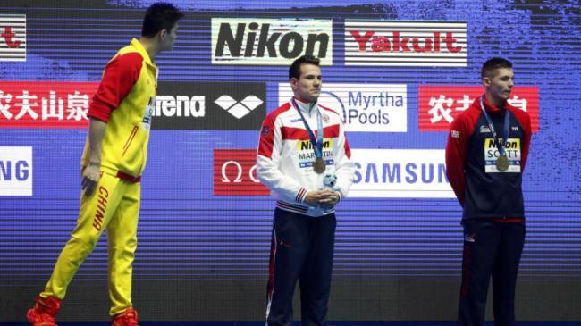 国际体育仲裁法庭:孙杨面临2-8年禁赛