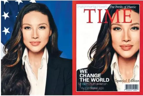 哈佛毕业+时代封面人物 张明娜造假当上美国高官
