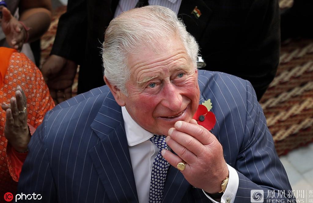 查尔斯王子出访印度 第一天就手脚红肿