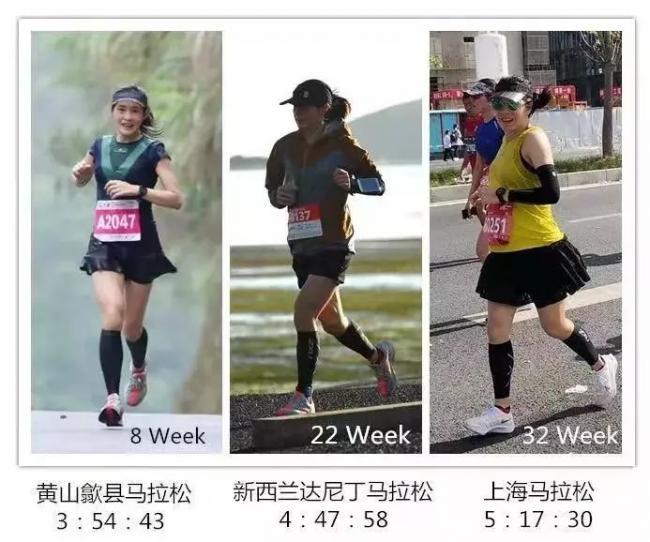中国40岁孕妇怀胎八月跑完全马:孕期都跑三个了