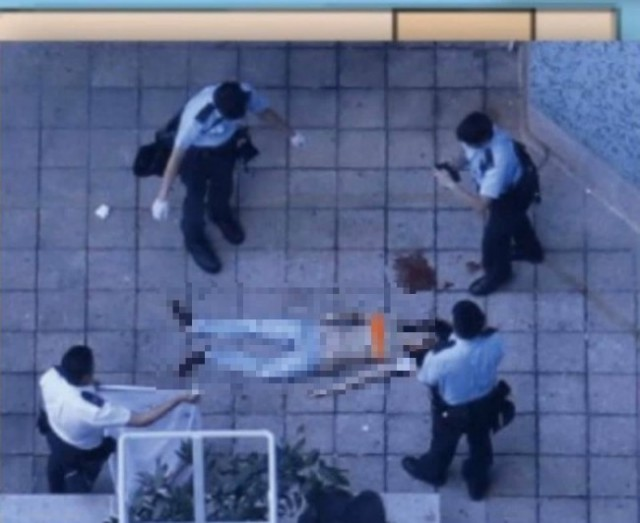 香港17岁少女半裸坠楼死亡疑点重重