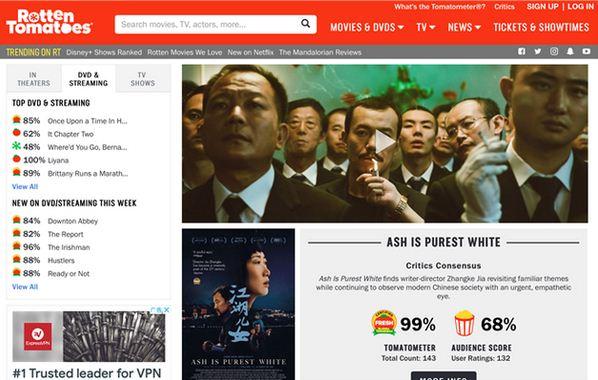 美媒评全球年度十佳影片 《江湖儿女》入选