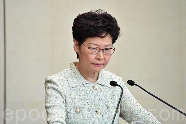 再创历史新低 林郑月娥民望净值-72%