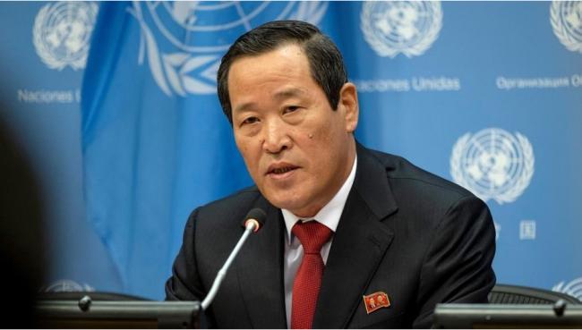 朝鲜驻联合国代表:不再与美国就无核化进行谈判