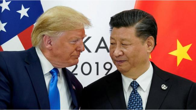 习近平、川普通话 谈贸易、香港和朝鲜