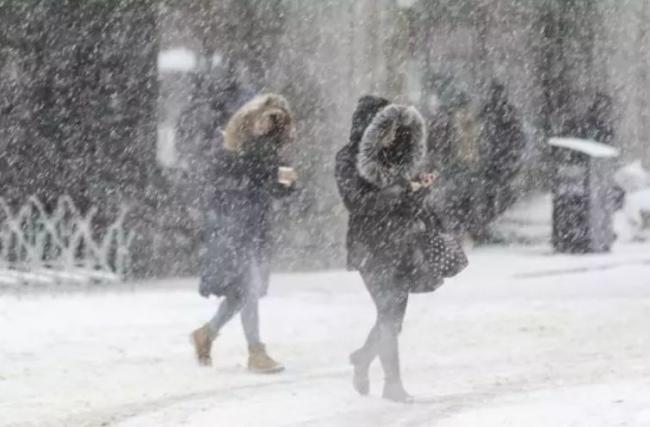 环境部特别警告!-12℃低温 30cm暴雪 大温沦陷