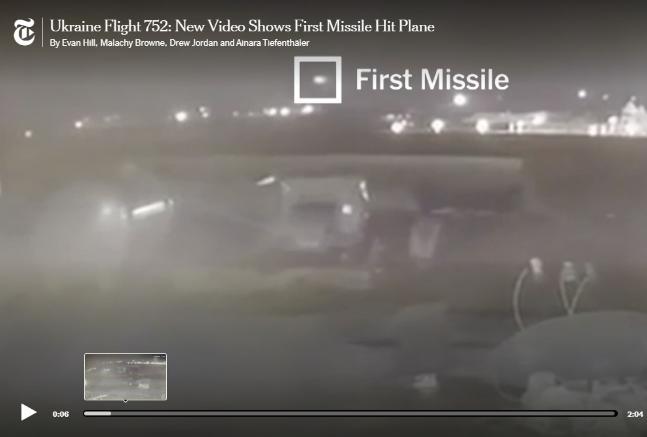 最新视频:两枚导弹先后击中乌航客机瞬间曝光