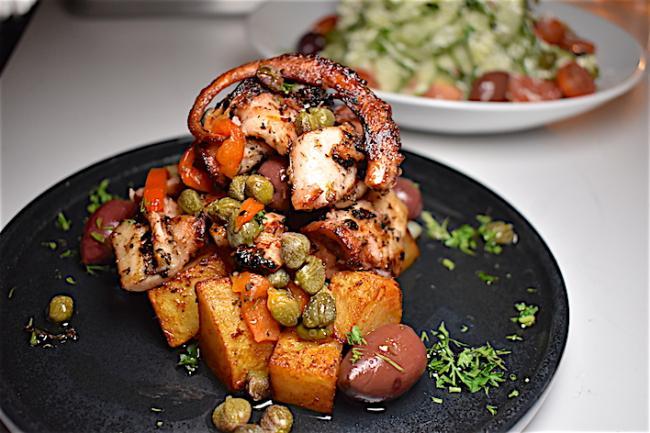 美食节之吃在煤气镇  希腊大餐性价比高