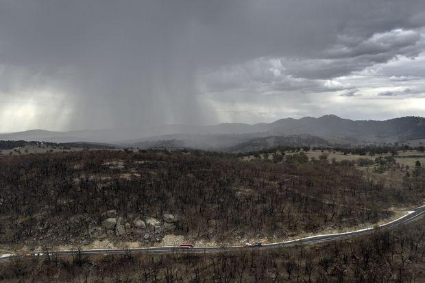 澳洲天降甘霖 浇熄32处野火 墨尔本狂降1个月雨量