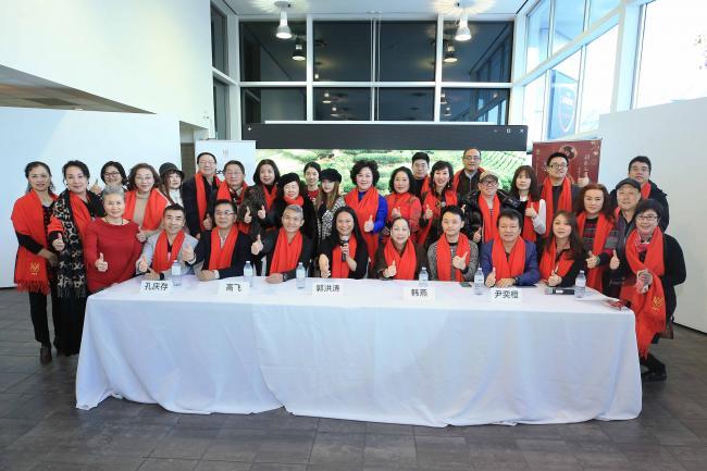 北美儿艺温哥华市中心春节大型系列活动新闻发布会