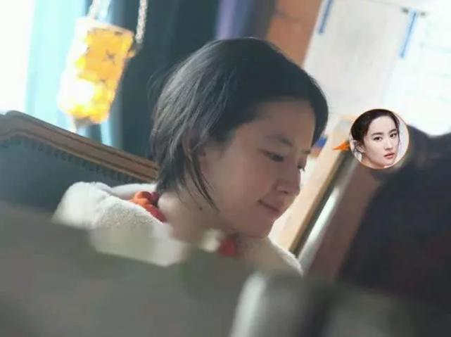 刘亦菲低调现身咖啡店 33岁素颜仍美得惊人