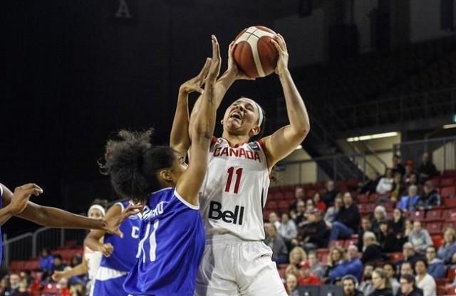 加拿大女篮拿下东京奥运入场券 男篮仍遥遥无期