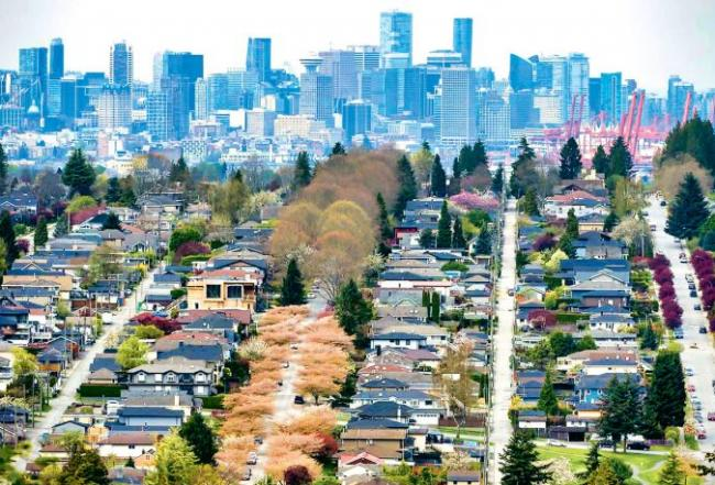卑诗上月房屋销量销升24% 今年楼市料复苏