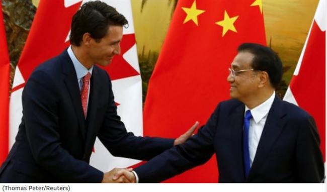 加拿大外交官警告政府:跟中国走得太近是危险的