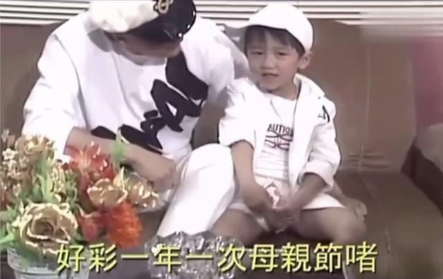 谢霆锋4岁视频曝光 躲在父亲怀中超奶萌