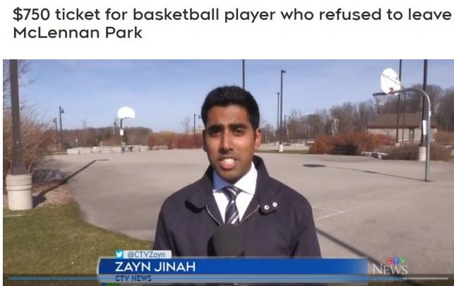 打篮球被罚750元!眼下在外面这些事不能做!