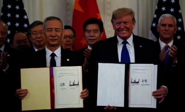 美中今热线 缓解贸易战再起疑虑
