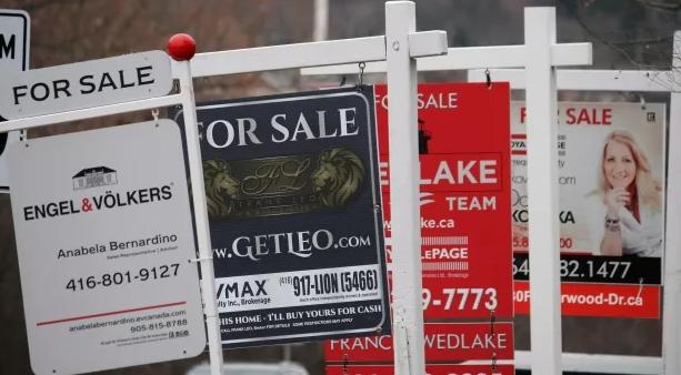 穆迪:低利率无法挽救加拿大房市 价格或跌10%