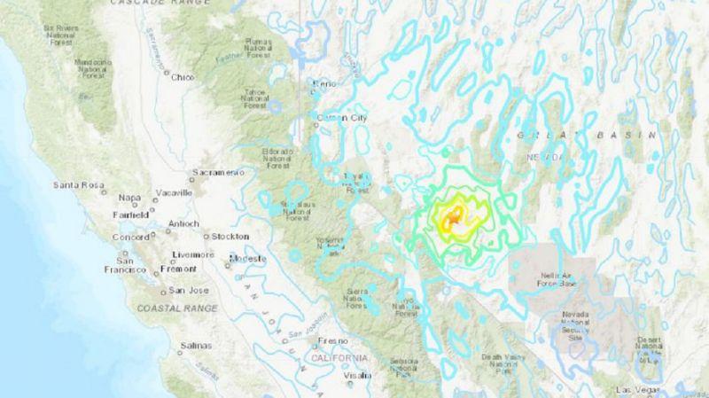 圖/翻攝自美國地質調查所