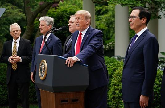 川普宣布对华政策重大转变  五大领域开火