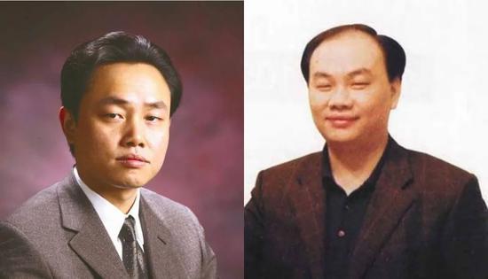 黄光裕(左),黄俊钦(右)
