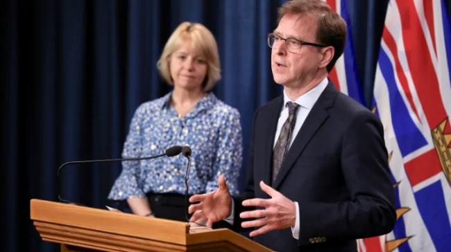 周末卑诗省新增62例确诊感染者,又有2人死亡