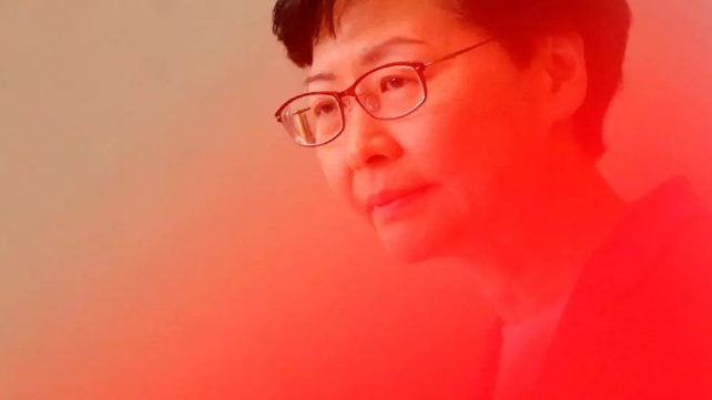 处于制裁风暴里的香港特首林郑月娥