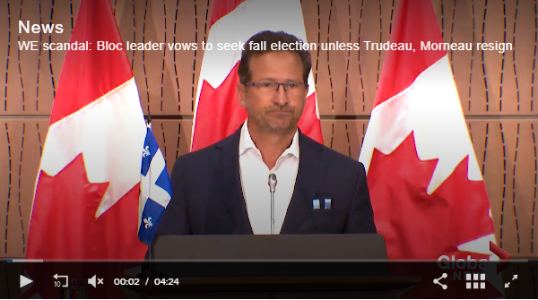 加拿大反对党曝更多黑料 最后通牒特鲁多下台