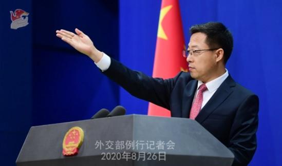 中国外交部回应两名加拿大公民案件