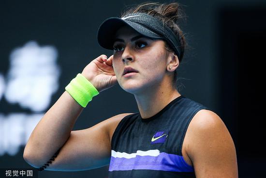 加拿大美女再退法网 美网冠军本赛季全报销