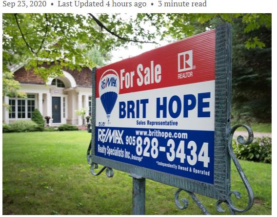 悲观! 加拿大这些省房价或大跌 多伦多和温哥华也没躲过!