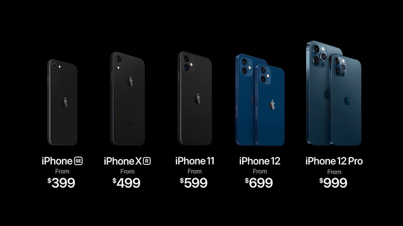 iPhone 12不同機款的分別,一文看清。