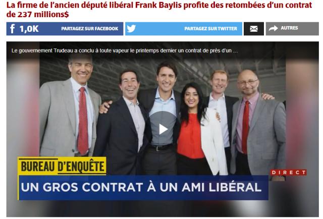 加拿大又陷大选危机 杜鲁多政府曝出新丑闻