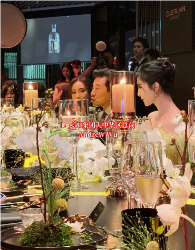 范冰冰作为高奢品牌代言人出席晚宴