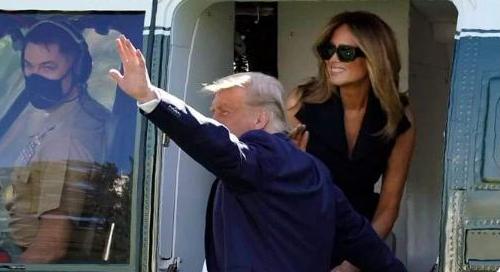"""网民震惊了:川普的妻子,居然是""""假""""的?"""