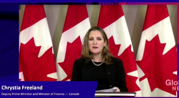 加拿大财长:没有免费午餐,巨额补助有期限