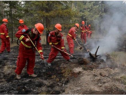 16名往加州协助扑救山火消防员返回BC后确诊