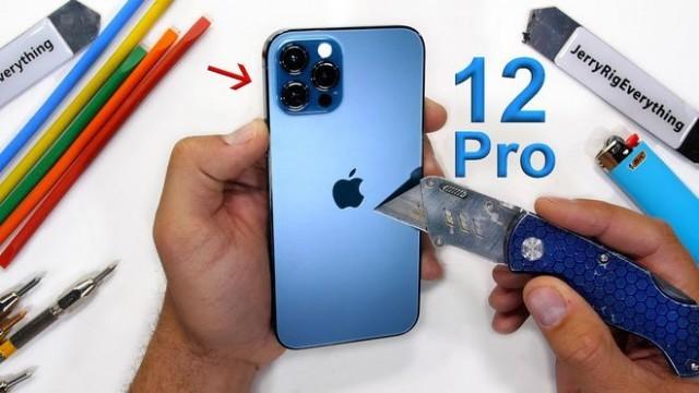 iPhone 12耐不耐摔?这些暴力测试告诉你